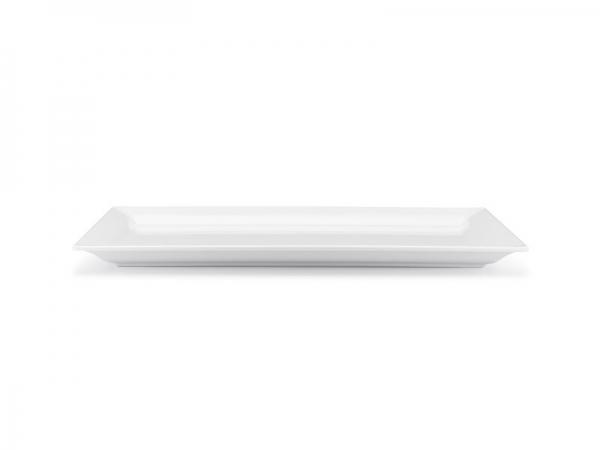 Melamin Diamond Platte 36 x 17,5 cm, weiß