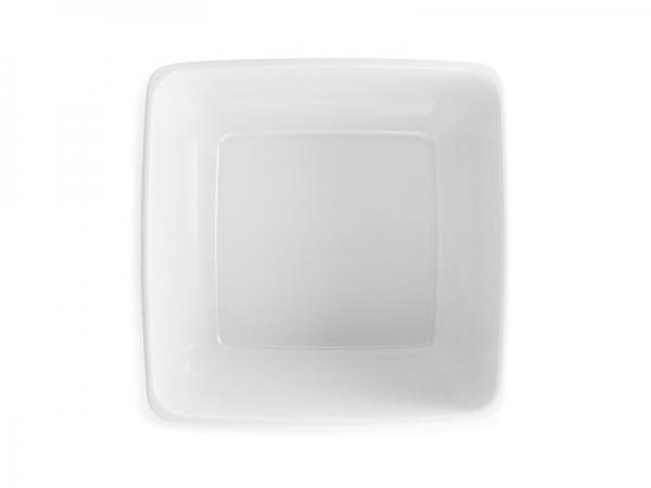 Melamin Diamond Schüssel 26 x 26 cm, weiß