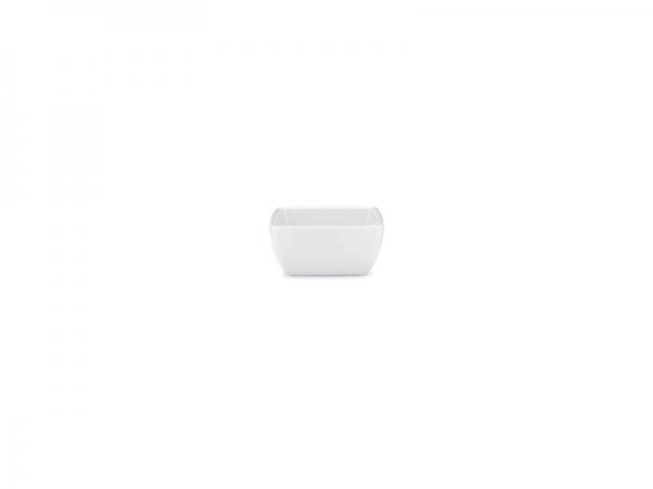 Melamin Diamond Schüssel 7,5 x 7,5 cm, weiß