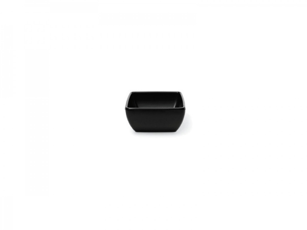 Melamin Diamond Schüssel 7,5 x 7,5 cm, schwarz
