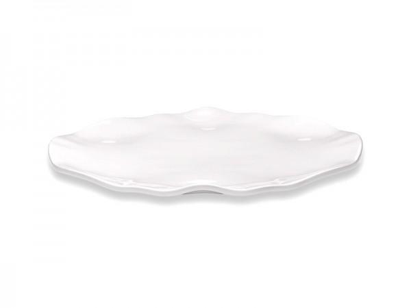 Ruffle Round Platte 40 cm