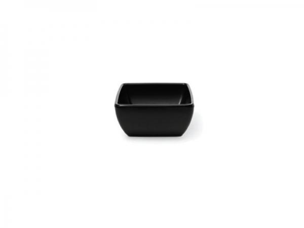 Melamin Diamond Schüssel 9 x 9 cm, schwarz