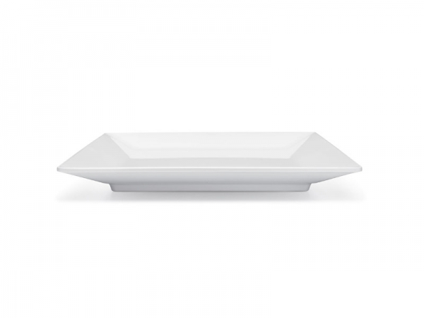 Melamin Diamond Teller 27 x 27 cm, weiß