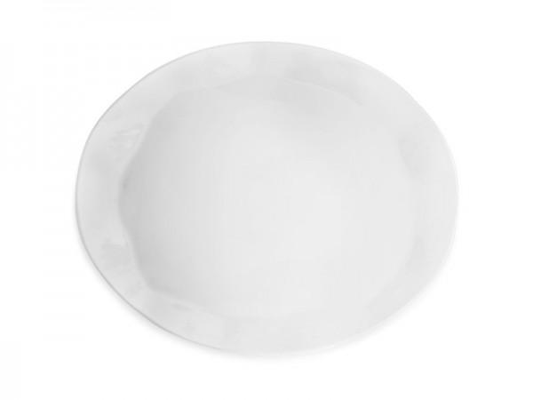 Ruffle Round Buffetplatte oval 53 x 43 cm
