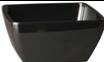 Melamin Diamond Schüssel 19 x 19 cm, schwarz