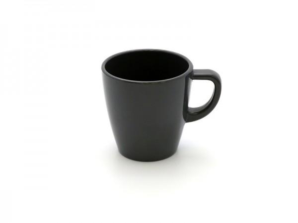 Melamin Kaffeebecher 200 ml, grau
