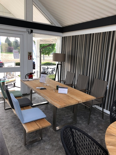 Tischgruppe Solid - Ausstellungsstück
